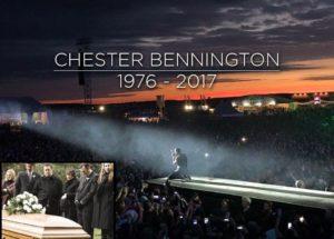 Погребението на Честър Бенингтън срина емоционално всички (СНИМКИ)