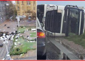 Свирепата буря в Сърбия стигна Румъния – очаква ни и нас? (+Как обратът разклаща здравето)